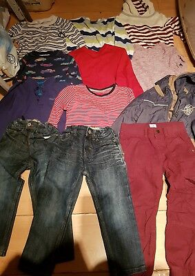 Boys winter top jeans Bundle 12 items Age 4-5  Years