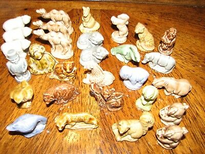 29 Wade Figurines Assorted Lot from Red Rose Tea