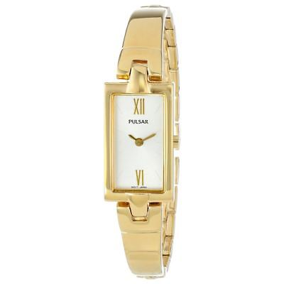 Pulsar PEGG14 Women's Gold-Tone Easy Style Stainless Steel Japanese Quartz Watch