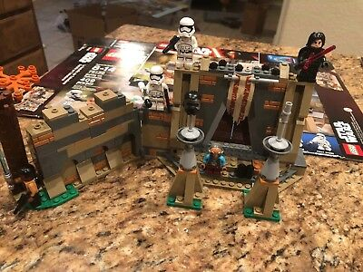 Stars Wars Lego Battle On Takodana 75139 Complete Box