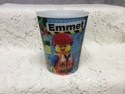 McDonald's 2014 The Lego Movie # 1 Emmet Action Cup loose