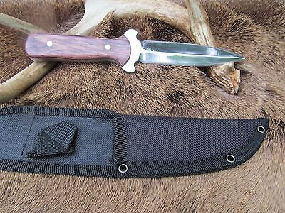 Hand Made Boot Knife, 1095 High Carbon Steel Blade