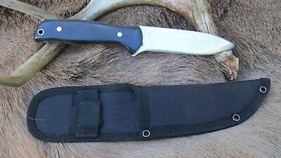 Hand Made Skinning Knife, 1095 High Carbon Steel Blade