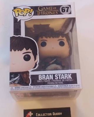 Funko Pop! Game of Thrones 67 Bran Stark Pop Vinyl Action Figure FU34618