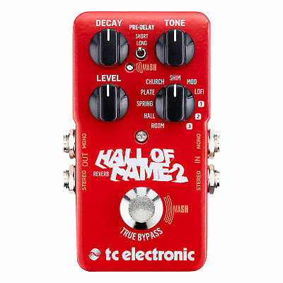 TC Electronic Hall of Fame 2 Reverb Pedal