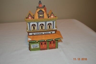 Dept 56 Snow THEATRE ROYAL Dickens Village Series Christmas Village #5584-0