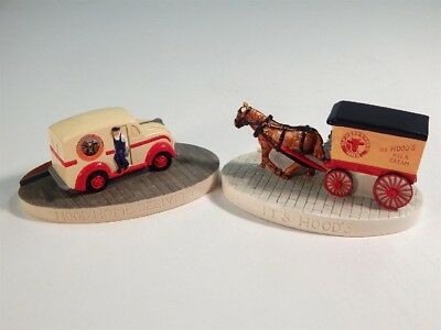 2 Vintage Sebastian Miniatures For Hood Milk And Cream Home Delivery