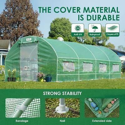 Quictent Portable Greenhouse Large Green Garden Hot House More Size
