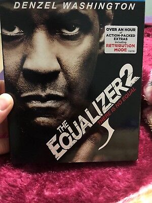 The Equalizer 2 (DVD, 2018) Ships Fast!!!!