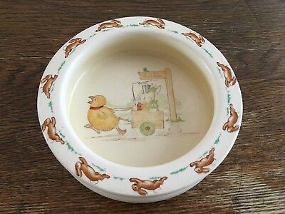 Vintage Bunnykins by Royal Doulton Baby Plate/Bowl