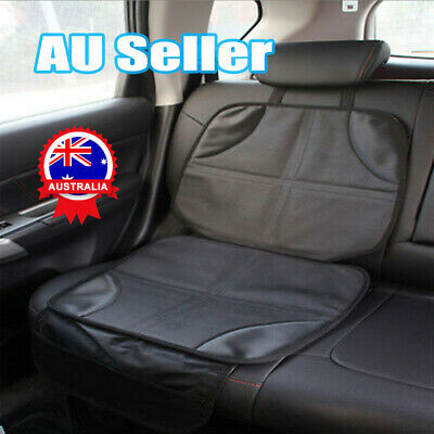 Baby Car Seat Protector Mat Covers Under Child Seat Leather Saver Car Cover DM