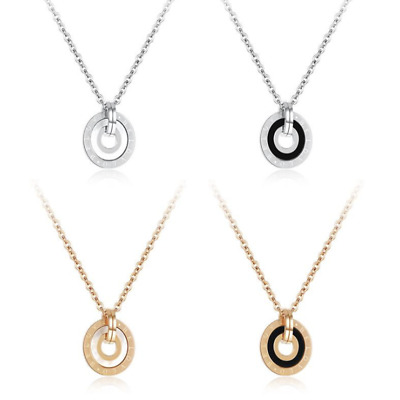 Fashion Unisex 316L Stainless Steel Love   Chain Pendant Necklace Gift GX1325