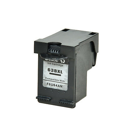 63XL 63 XL Black Ink Cartridge for HP OfficeJet 5255 5258 with NEW vsersion Chip