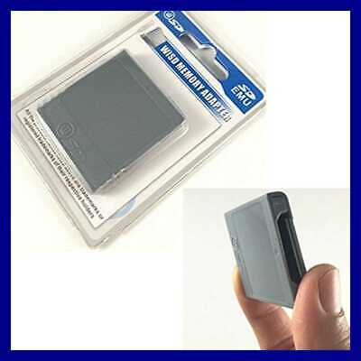 Key SD Memory Card Stick Converter Adapter For Nintendo Gamecube NGC Wii Video G