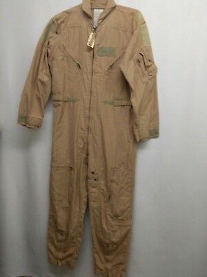 USED USGI CWU-27/P Flyers Coveralls Pilot Flight Suit Summer  SIZE 44 R