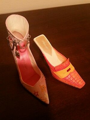 Just the Right Shoe by Raine, Miniature Shoe Lot of 2