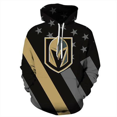 b2500436afa VGK Las Vegas Golden Knights Hoodie Lightweight Sweatshirt Unisex Men Women  NHL