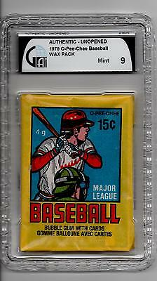 1979 Baseball O-PEE-CHEE Wax Pack GAI MINT 9! SEALED! Not Topps or PSA Ozzie?