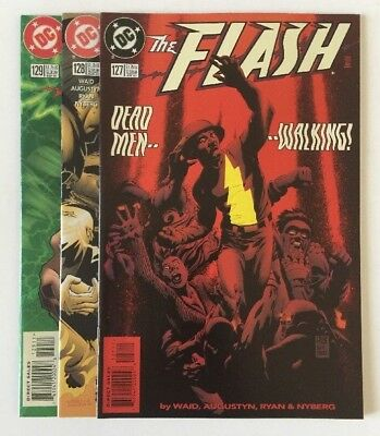 The Flash #'s 127, 128 & 129 (1997) Hell to Pay Pts 1-3 HIgh Quality DC Lot!