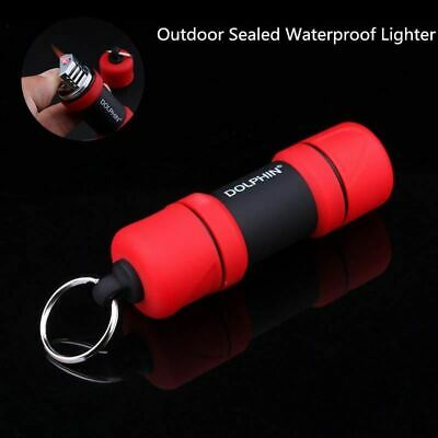 Turbo Torch Lighter Portable Outdoor Waterproof Dumbbell Survival Tool