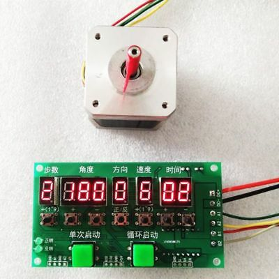Stepper Motor Driver Controller Module Direction/Time Programmable Board DC8-27V
