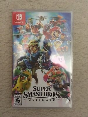 Super Smash Bros. Ultimate for Nintendo Switch New Release