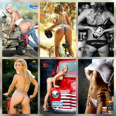 """Hot Flexible Fridge Magnet Sexy Girl Photo Pin Up Toolbox Collectibles 2.5""""x3.5"""""""
