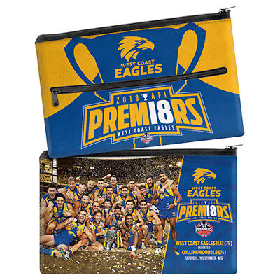 West Coast Eagles AFL Premiers 2018 Team Image Neoprene Pencil Case