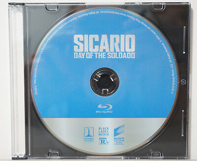 Sicario: Day of the Soldado (Blu-ray Disc, 2018) - NEW BLU-RAY ONLY