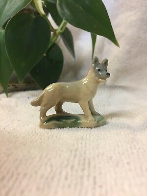 WADE Whimsie Alsatian Dog, 1st Whimsies Collection, 1950's. Vintage Piece.