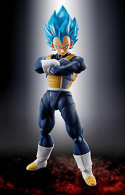 Dragon Ball Super Vegeta Ssgss S.h. Figuarts Bandai New. Pre-Order