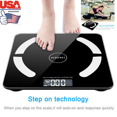 Bluetooth Smart Digital Weighing weight Body Fat Home OKOK App Xmas Gift US