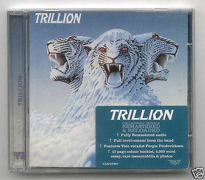 Trillion 's/t' Rock Candy Remastered Toto 2010 New!