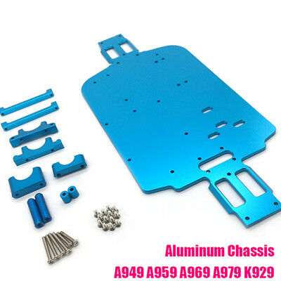 Upgrade Metal Chassis for Wltoys 1/18 A949 A959 A969 A969-B A979-B K929-B RC Car