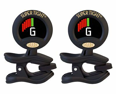 Snark ST-8 Super Tight Clip On Tuner 2-Pack