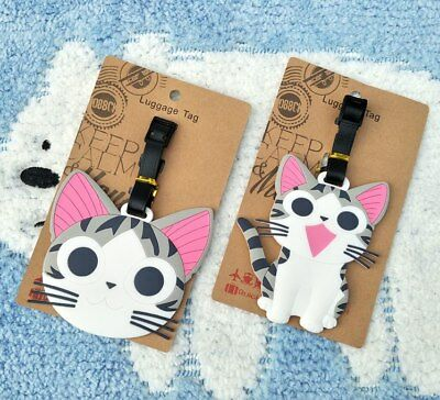 Chi's Sweet Home Anime Luggage Tag PVC Travel Label boarding tags new