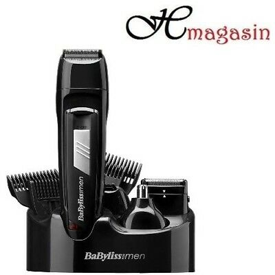 Babyliss 7056cu Cordless Rechargeable For Men 8 In 1 All Over Grooming Kit