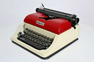 LILLIPUT 50s 50er portable Schreibmaschine Kinder Kids typewriter antik vintage