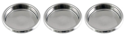 Puly Caff Backflushing Cleaning Blanking Disc Blind Filter Basket Coffee 58mm x3