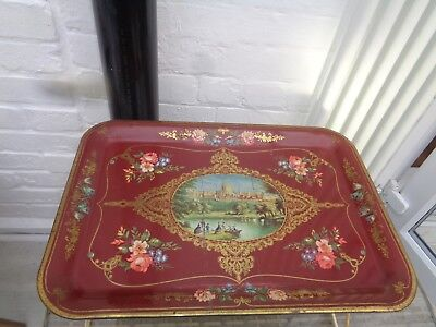 Vintage 1950's Elite Trays Over the Bed Chair Tray