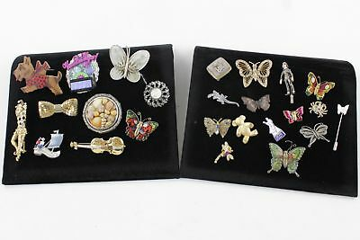 25 Vintage & Retro Quirky & Animal BROOCHES inc. Insects, Circus, Shells