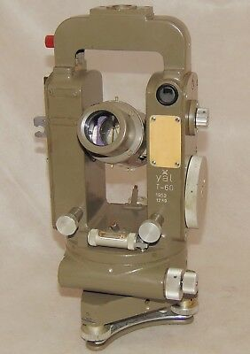 Artillery Theodolite YAL T-60 vz. 53m with compass, meopta, military, scale:6000
