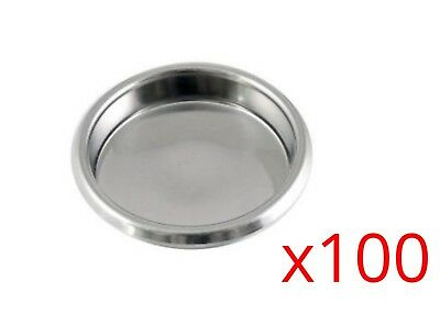 Puly Caff Backflush Cleaning Blanking Disc Blind Filter Basket Coffee 58mm x100