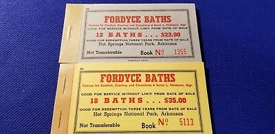 Fordyce Baths Coupon books