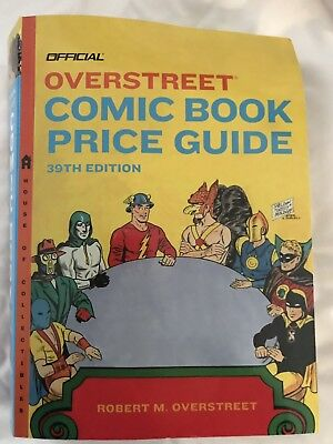 overstreet comic book price guide 39th Edition