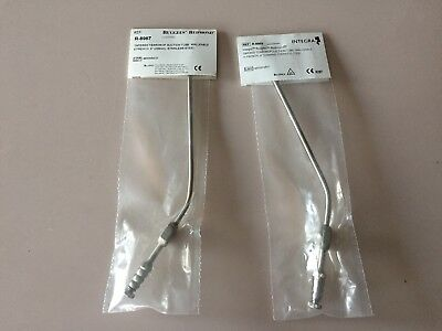 """New Integra Ruggles Redmond Tapered Teardrop Suct. Tube, Malleable 9Fr, 11Fr 9"""""""