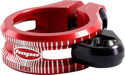Hope Dropper Asiento Abrazadera, 34.9mm, Rojo