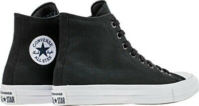 41d15514324e CONVERSE CHUCK TAYLOR All Star II Hi Shoes Lunarlon Black 150143C ...