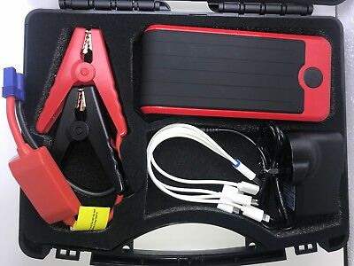 Portable Car Battery Power Booster Jump Start Starter Rescue Pack 12V ,12000mah