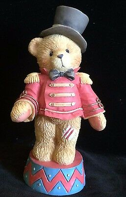 Cherished Teddies Bruno #103713 - Step Right Up And Smile